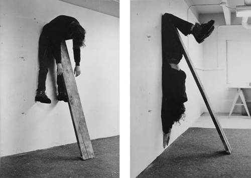 Charles Ray, Plank-piece, 1973, photographies, collection Astrup Fearnley Museet.