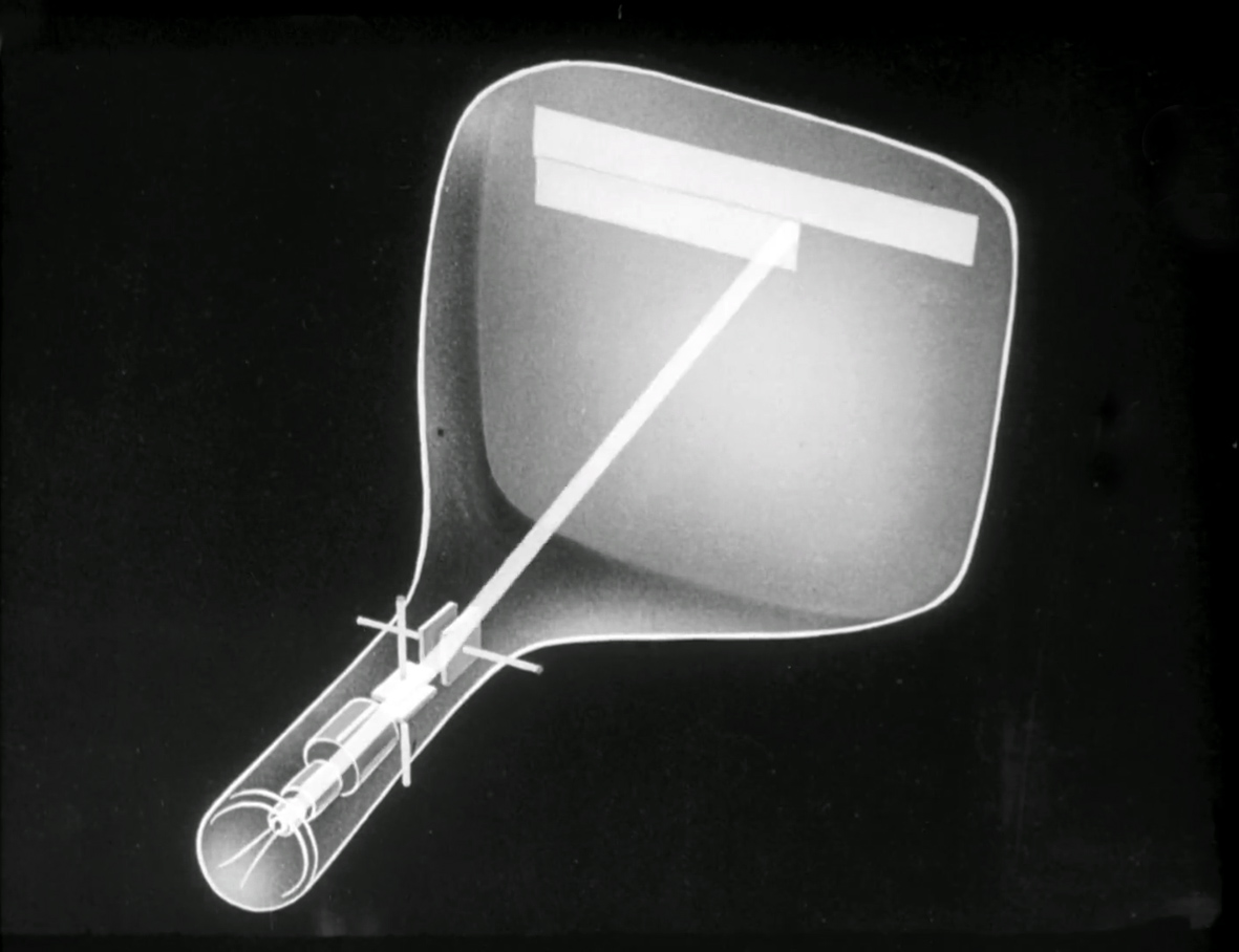 Illustration 7: cathode ray tube, 1935, from Das Auge der Welt 1935