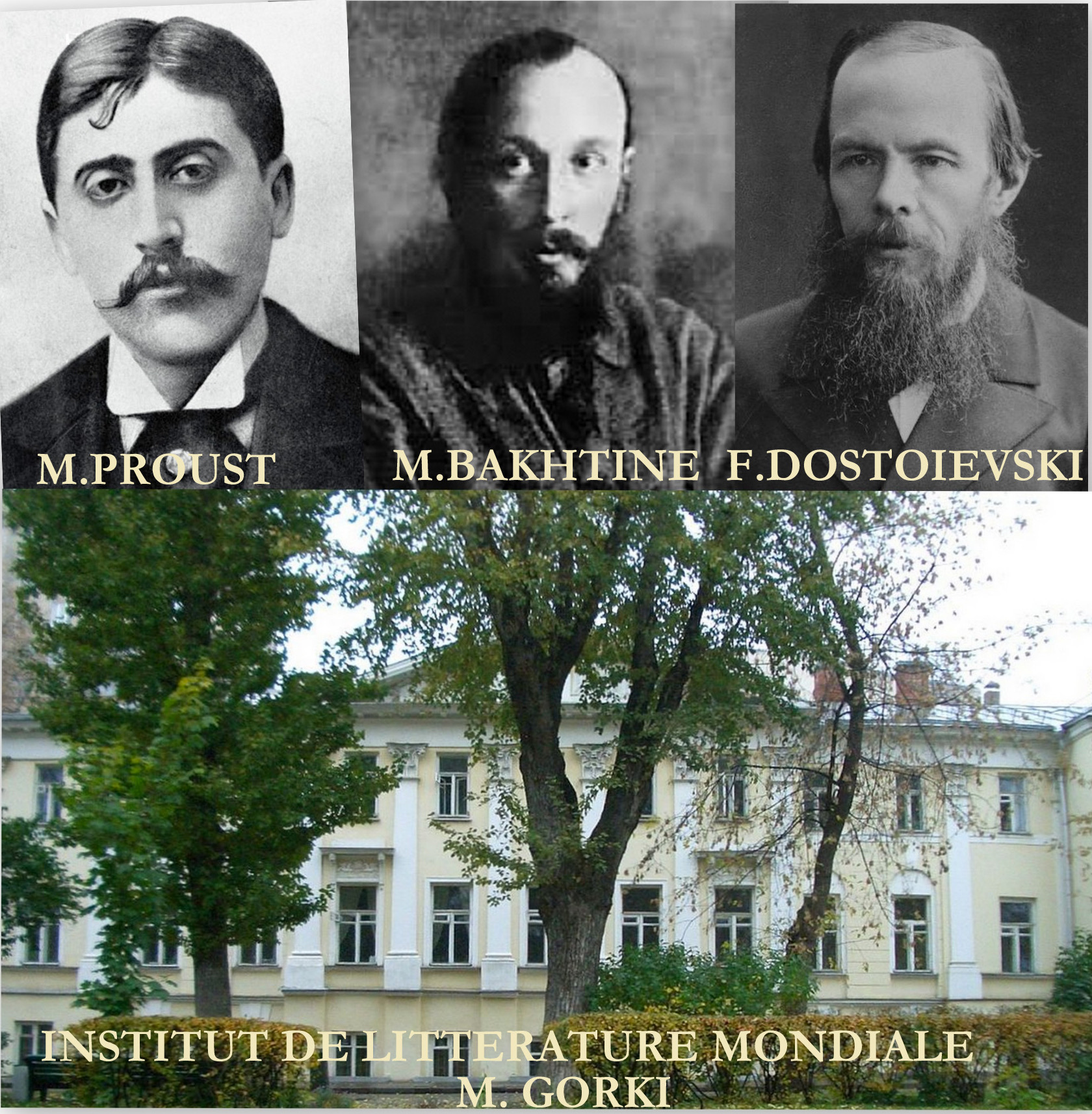 Bakhtine, Proust et la polyphonie romanesque chez Dostoïevski ...
